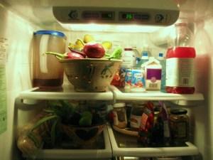 a pretty spring 'fridge! 001