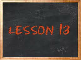 lesson13
