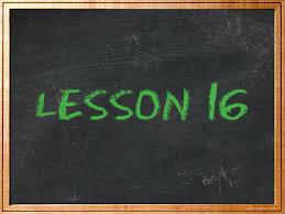 lesson16