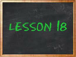 lesson18