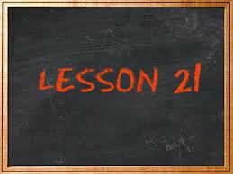 lesson21