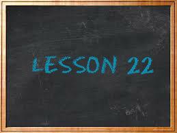 lesson22