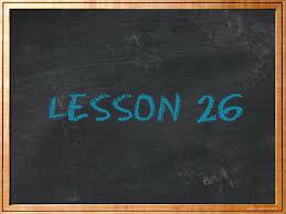 lesson26