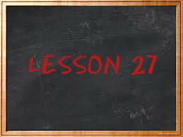 lesson27