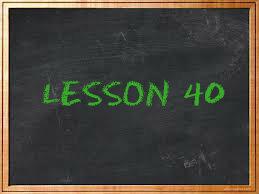 lesson40